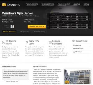 BosonVPS Review